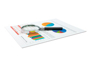Analysing financial data with a magnifying glass